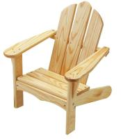 Little Colorado Child's Adirondack Chair, Unfinished/Sanded