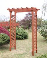 Convenience Concepts Deluxe Garden Arbor (Red Cedar)