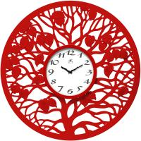 Infinity Red Oak Wall Clock