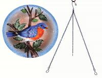 Songbird Essentials SE5012 Bluebird Hanging Birdbath