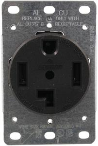Pass & Seymour 3864/278 Single-Flush Dryer Receptacle