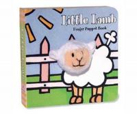 Chronicle Books Little Lamb Finger Puppet Book