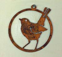 Elegant Garden Design Baby Robin Ornament