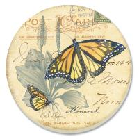 Counter Art Butterfly Journal Coasters Set of 4