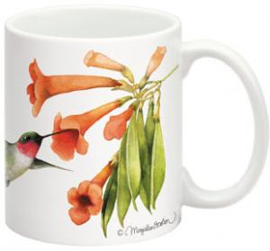 Fiddler's Elbow Ruby-Throated Hbird 15 oz Mug