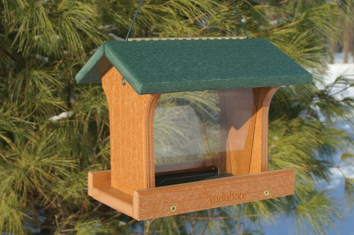 Woodlink Audubon Series Going Green Recycled Plastic  Ranch Bird Feeder