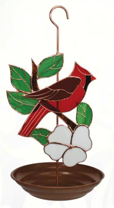 Gift Essentials Cardinal Bird Feeder