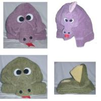 Magic Dragon Critter Hooded Towel