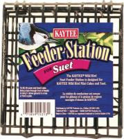 Wild Bird Suet Feeder Station