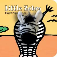 Chronicle Books Little Zebra Finger Puppet Boo