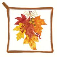Alice's Cottage Autumn Leaves Potholder