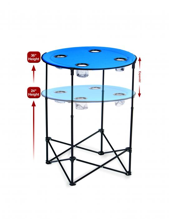 Picnic Plus Scrimmage Tailgate Table - Royal