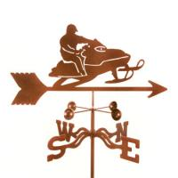 EZ Vane Snowmobile Weathervane