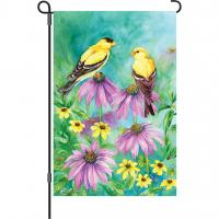 Premier Designs Summer Goldfinches Garden Flag