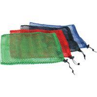 "Equinox Nylon Mesh Stuff Bag 11"" X 16"" Red"