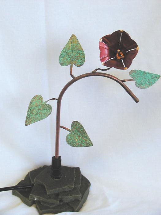 Birds Choice Ivy Dripper with Rock Base