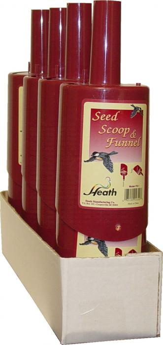 Heath Bird Feed Scoop