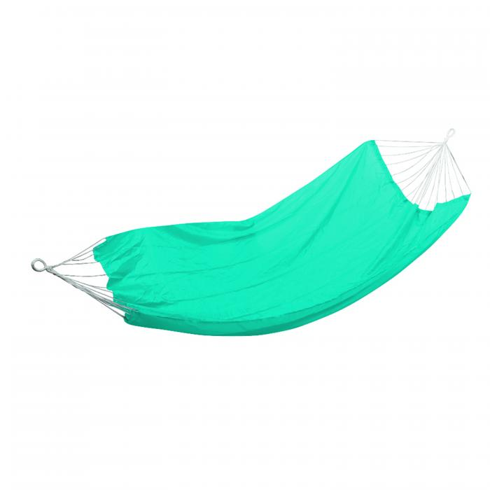 "Stansport Malibu Packable Nylon Hammock - 85""  X 59"" - Turquoise"
