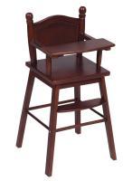 Guidecraft Doll High Chair - Espresso