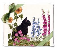 Alice's Cottage Black Cat Flour Sack Towel (set of 2)