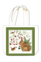 Alice's Cottage Winter Bunny Gift Tote