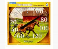 Horse & Foal Thermometer 12.5 inch