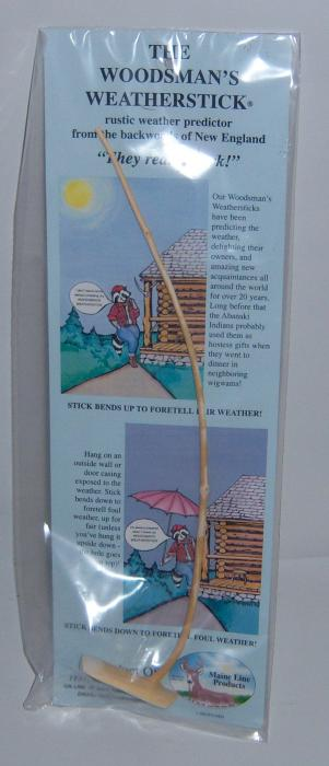 Woodsman's Weatherstick Woodsman Weatherstick (Poly Bag)