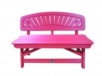 Bird's Choice Classic Bench-Tangerine