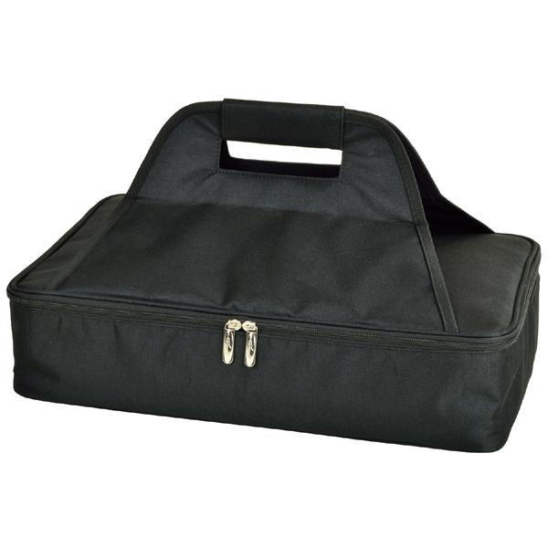 Picnic at Ascot Insulated Casserole Carrier, Black