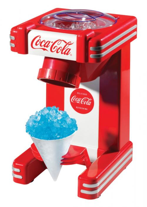 Nostalgia Electrics Coca-Cola Series RSM702COKE Single Snow Cone Maker