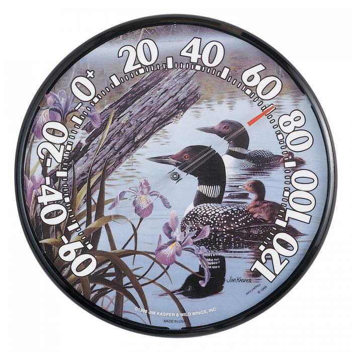 """AcuRite 12.5"""" Loons Thermometer"""