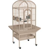 Small Dometop Cockatiel Cage - Coco Brown
