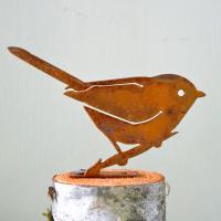 Elegant Garden Design Bushtit Bird Silhouette