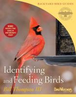 Peterson Books Identifying & Feeding Birds