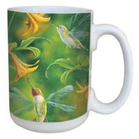 Tree Free Greetings Ruby Wings Mug 15 oz