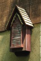 Heartwood Victorian Bat House, Red