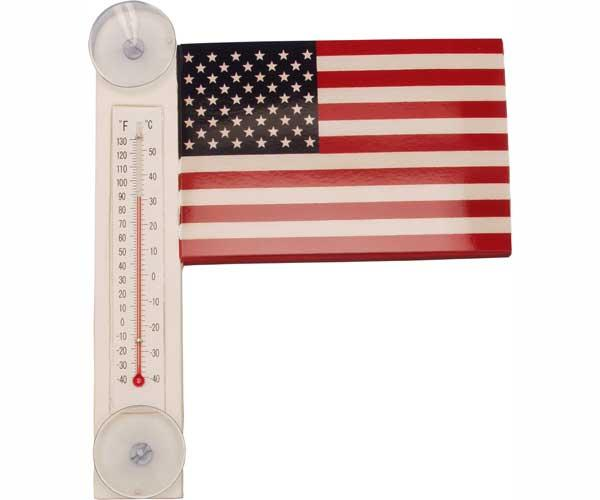 Bobbo Flag Thermometer Small