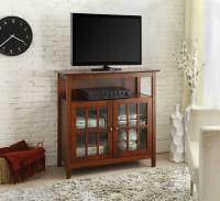 Designs2Go Big Sur Highboy TV Stand, Cherry