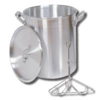 King Kooker #30PK- 30 Qt. Aluminum Turkey Pot - Rack - Lid