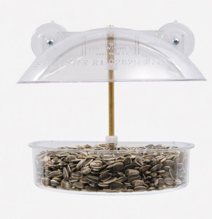 Droll Yankees Winner Window Bird Feeder