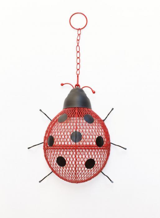 No/No Feeder Ladybug Mesh Feeder