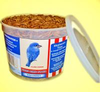 Unipeck of America Value Tub Dried Mealworms (avg. count 10,000)