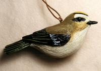 Songbird Essentials Golden Crowned Kinglet Ornament