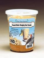 Pine Tree Farms 1.75 Pound Suet Peanut Butter Bell with Net