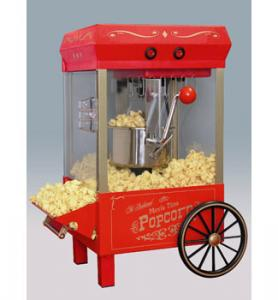 Nostalgia Electrics Old Fashioned Kettle Corn Popper - Red- KPM-508