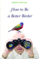 Princeton University Press How to Be a Better Birder