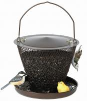No-No Bronze Tray Mesh Bird Feeder