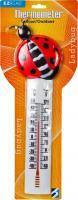 Headwind Ladybug Deco Thermometer 10 inch