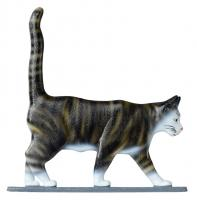 "30"" Cat Standing Weathervane - Rooftop Color"