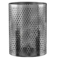 Nu Steel Platinum Wastebasket